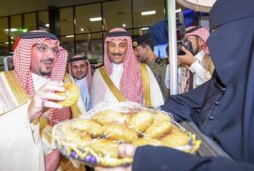 """أمير القصيم: """"كليجا بريدة"""" أثبت نجاح فكرة دعم الأسر المنتجة"""