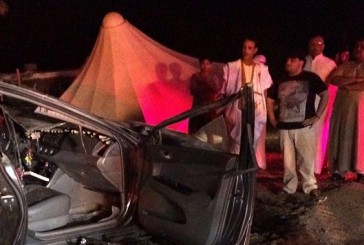 وفاتان وإصابتان في حادث اصطدام بالمدينة
