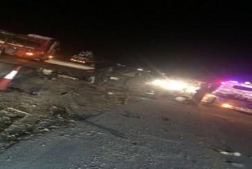 حالتي وفاة وإصابة 5 في حادث سير طريق الرياض الدمام