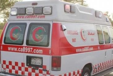 إصابتي في حادث سير قرب محافظة طبرجل