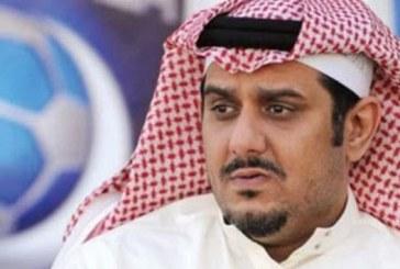 نواف بن سعد يعتذر لجمهور الهلال و يطلب من أعضاء الشرف إختيار رئيس جديد بديلا عنه