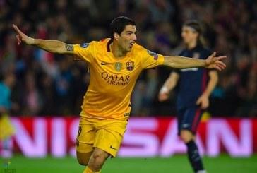سواريز يقود برشلونة لفوز صعب على اتلتيكو بذهاب ربع نهائي الأبطال