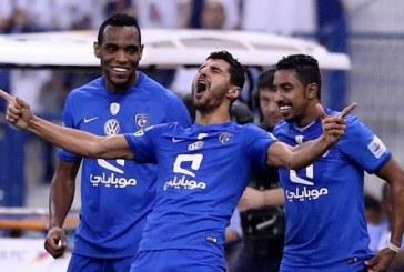 الهلال يفوز على الخليج بثلاثة ويتصدر الدوري مؤقتاً
