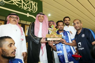 الهلال يتوج بطلا لدوري كرة الطائرة بفوزه على الأهلي بـ 3 أشواط