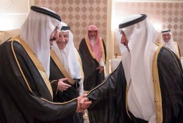 خادم الحرمين يستقبل السفراء العرب المعتمدين لدى جمهورية مصر العربية