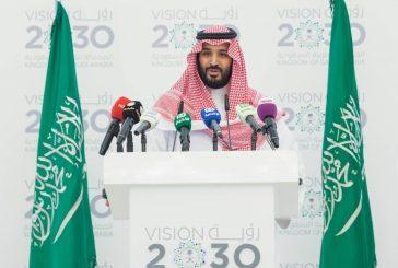 """ولي ولي العهد :هناك برامج قريبة سوف تطلق تحت مظلة """"رؤية السعودية 2030 """""""