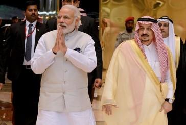 رئيس الوزارء الهندي يغادر الرياض