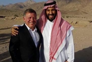 صورة تجمع ملك الأردن مع ولي ولي العهد..تنال إعجاب المغردين