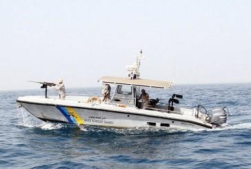 مكة: حرس الحدود يوقف دخول 30 متسللاً عبر البحر