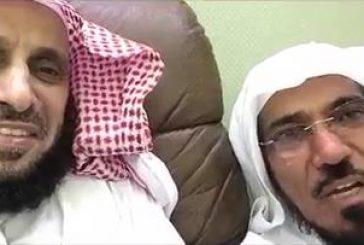 """بالفيديو.. الشيخ عائض القرني ممازحاً العودة .. لو """"أصابك حادث بيسلم كثير"""""""