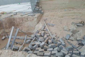 سقوط جدار بمبنى تحت الإنشاء يقتل ثلاثة في الأحساء