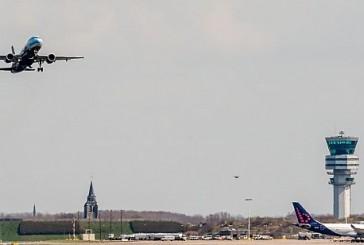 إقلاع أول طائرة من مطار بروكسل منذ الاعتداءات