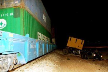 وفاة سائق إثرتصادم بقطار بضائع مع شاحنة قرب الخرج