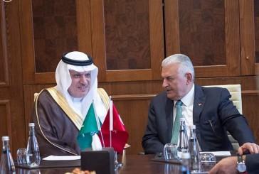 وزير النقل يبحث أوجه التعاون في مجال النقل مع نظيره التركي