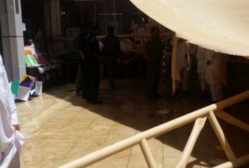 وفاة طالبة وإصابة أخريات إثر سقوط مظلة مدرسة بمحايل عسير