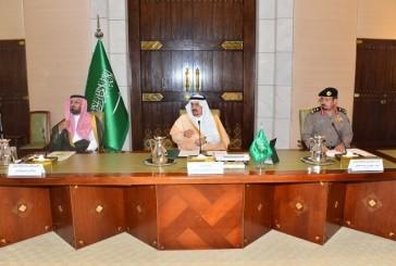أمير الرياض يطلع على استعدادات الدفاع المدني للحالة المطرية المتوقعة