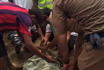 مدني جازان: 6 حالات وفاة وحالة مفقودة بسبب الأمطار