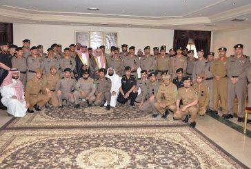 بالصور..شرطة الشرقية تستضيف الشيخ ابن حميد في كلمة توجيهية لرجال الأمن