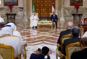 بالفيديو.. الملك سلمان والرئيس السيسي يشهدان توقيع 15 اتفاقية بين المملكة ومصر