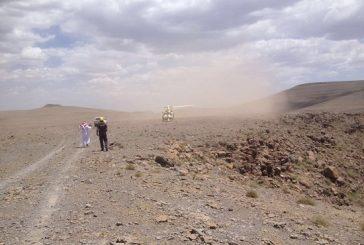 إنقاذ مواطن مصاب بموقع جبلي وعر في تبوك