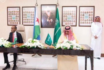 ولي العهد ووزير الداخلية الجيبوتي يوقعان اتفاقية تعاون أمني بين المملكة وجيبوتي