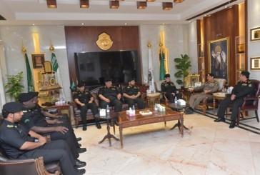 مدير الأمن العام يكرم عدد من منسوبي دوريات الأمن بمنطقة الرياض