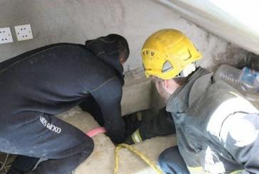 وفاة أب وابنه داخل خزان مياه بمحافظة الجموم