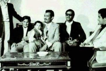 صورة نادرة للملك سلمان مع خمسة من أبنائه بمصر في سبعينيات القرن الماضي