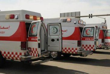 148 بلاغاً يباشرها الهلال الأحمر بمنطقة الباحة في أربعة أيام