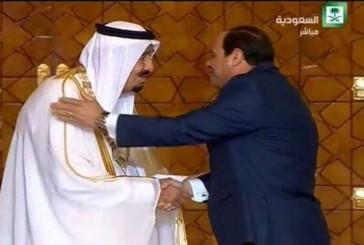الرئيس المصري.. يمنح الملك سلمان قلادة النيل تقديراً لدوره ومواقفه