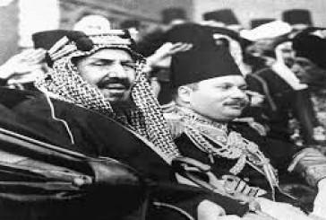 """فيديو استقبال مصر للملك المؤسس.. """"صقر الجزيرة"""" كما وصفته صحافتها"""