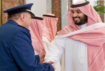 ولي ولي العهد يصل الرياض قادماً من دولة الإمارات العربية المتحدة