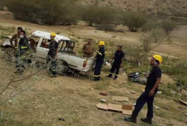 وفاة غريق بسد الجنابين و 14 حادث مرووي تُصيب 20 شخصاً في الباحة اليوم