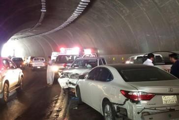 ثلاث حوادث و10 إصابات خلال يوم بالباحة