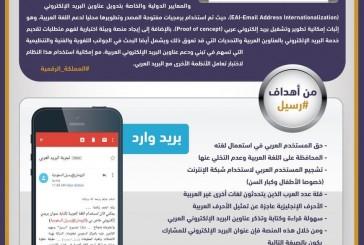 هيئة الاتصالات: نظام رسيل يحقق نجاحا لدعم العربية على الإنترنت