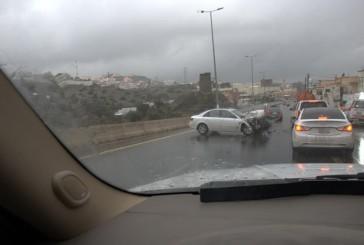 13 إصابة ناتجه عن ١١حادثاً تنوعت بين انقلاب وتصادم ودهس بمنطقة الباحة