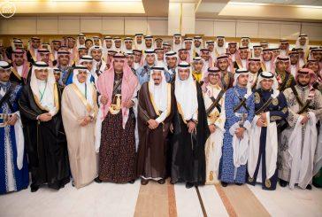 خادم الحرمين يرعى حفل تخريج الدفعة الـ 41 من طلاب مدارس الرياض
