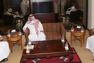 الأمير عبدالله بن مساعد يجتمع برئيسي الأهلي والنصر