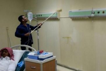 """""""صحة القصيم"""" توضح حقيقة صورة وجود دهان في غرفة مريض"""