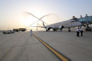 """بالصور..انتقال سلس لتشغيل رحلات """"السعودية"""" عبر صالة (5) بمطار الملك خالد بالرياض"""