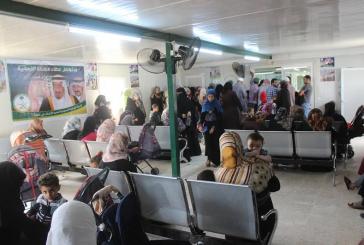 صيدلية العيادات التخصصية السعودية في مخيم الزعتري تصرف 1663 وصفة طبية للاشقاء السوريين خلال الاسبوع 173