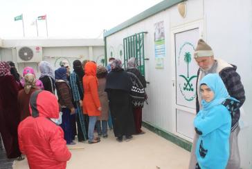 صيدلية العيادات التخصصية السعودية في مخيم الزعتري تصرف 1842 وصفة طبية للاشقاء السوريين خلال الاسبوع 175