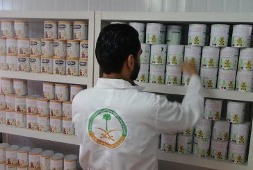 94 رضيعاً استفادوا من مشروع الحملة الوطنية السعودية «نمو بصحة وأمان» في مخيم الزعتري خلال الأسبوع 143