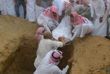 بالصور.. تشييع جثمان الشهيد الحلوي بأحد المسارحة