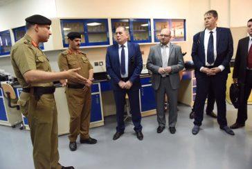 وزير الأمن بالبوسنة والهرسك يزور شؤون التدريب بالأمن العام ومدينة تدريب الأمن العام في الرياض