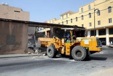 بلدية محافظة الخبر تزيل 8 مباني مجهورة وآيلة للسقوط ضمن برنامجها