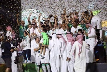 رئيس هيئة الرياضة يهنئ الأهلي بتتويجه بطلاً لدوري عبداللطيف جميل
