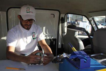 معاق يقود شاب إلى الانطلاق بمشروع سيارة متنقلة متخصصه بيع وصيانة أجهزة الجوالات