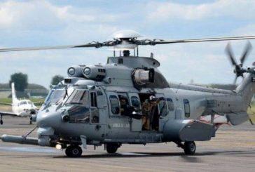 تحطم هليكوبتر للشرطة الفرنسية يتسبب بمقتل 4 أشخاص.