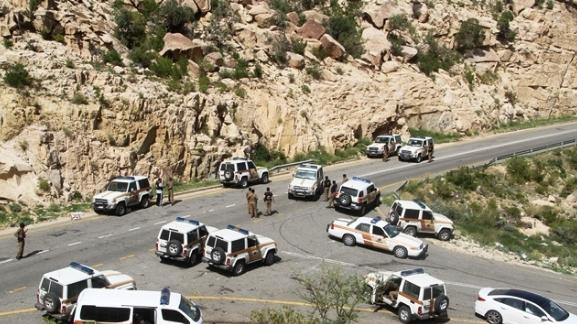 مطاردة جوية وبرية للمتورطين في المحاولة الإرهابية بالطائف